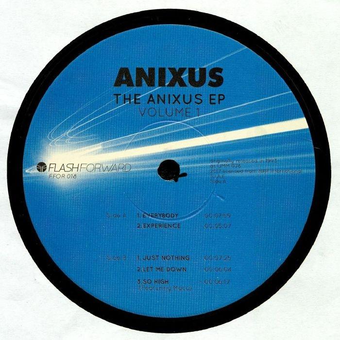"( FFOR 018 ) ANIXUS - The Anixus EP Volume 1 (Black 12"") Flash Forward"