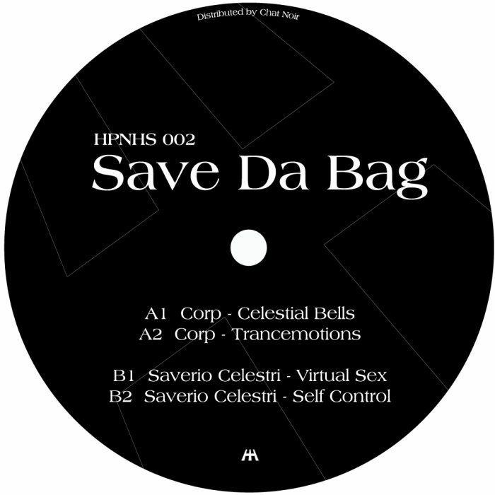 """( HPNHS 002 ) CORP / SAVERIO CELESTRI - Save Da Bag (12"""") Hypnohouse Ukraine"""