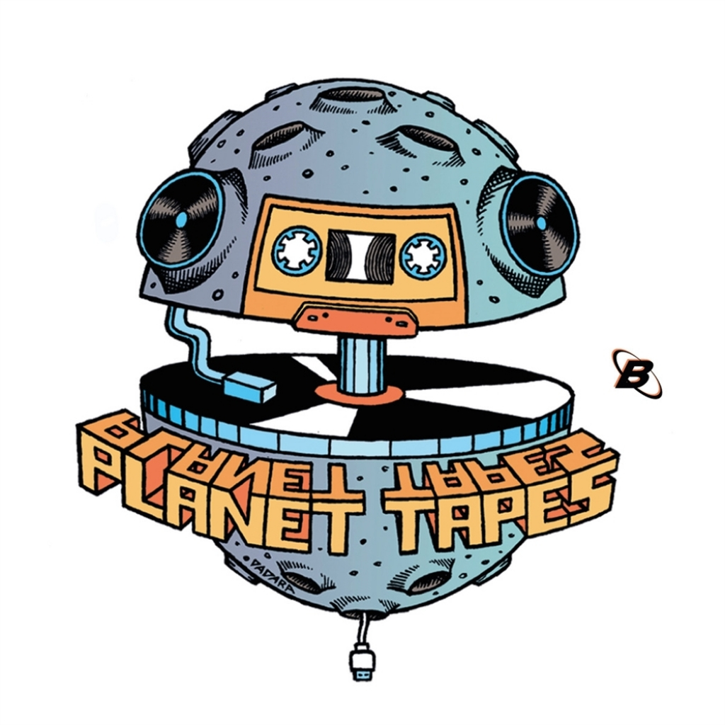 """( P.T.001 ) V/A - Bored In A Cosmic Network EP (ltd copies vinyl  12"""") Planet Tapes"""