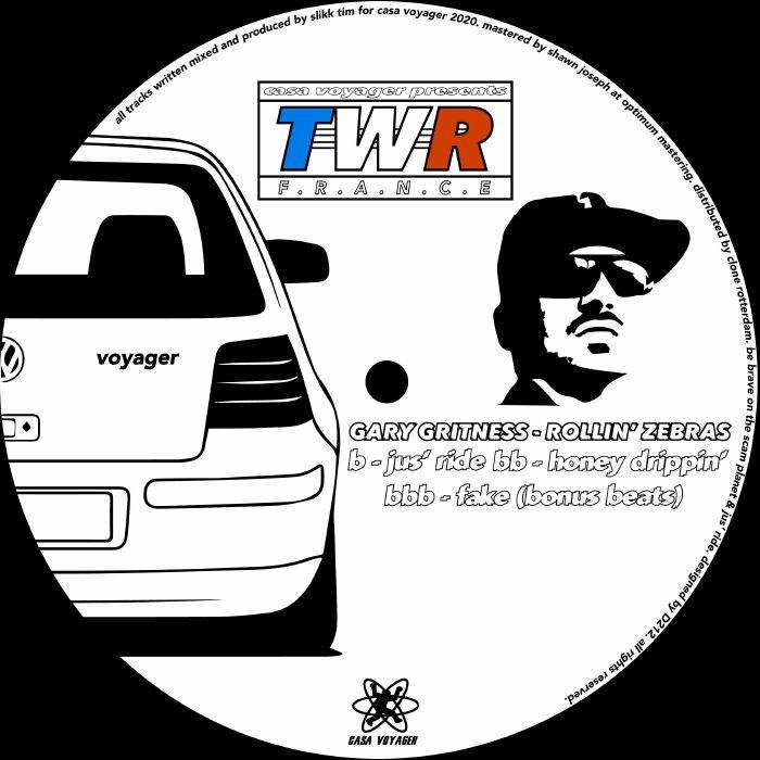 "( TWR 04 ) GARY GRITNESS - Rollin' Zebras (12"")  Casa Voyager France"