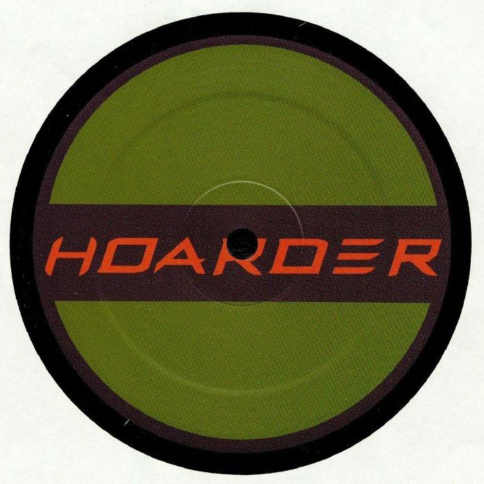 "( HOARD 013 ) Justin PAK - Indistinct EP (12"") Hoarder Netherlands"