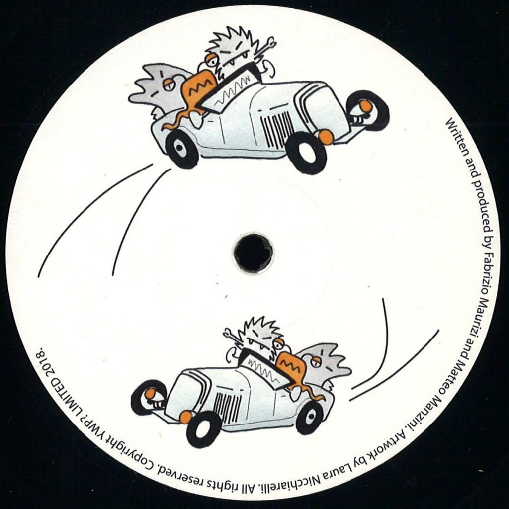 """( WNT 003 )  Fabrizio MAURIZI / MATTEO MANZINI - 12345 EP (12"""") Want?"""