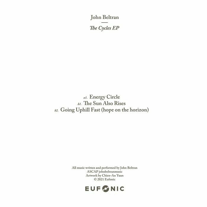 "( EFNC 001 ) John BELTRAN - The Cycles EP (12"") Eufonic Romania"