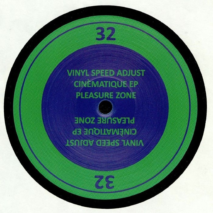"( PLZ 032 ) VINYL SPEED ADJUST - Cinematique EP (12"") Pleasure Zone Germany"