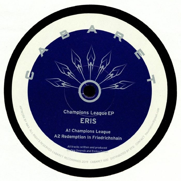 "(  CABARET 020 ) ERIS - Champions League EP (12"") Cabaret Japan"