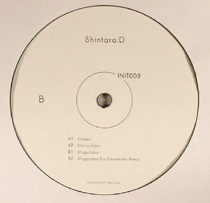 "( INIT 003 ) SHINTARO D - INIT 003 (12"") - INIT"