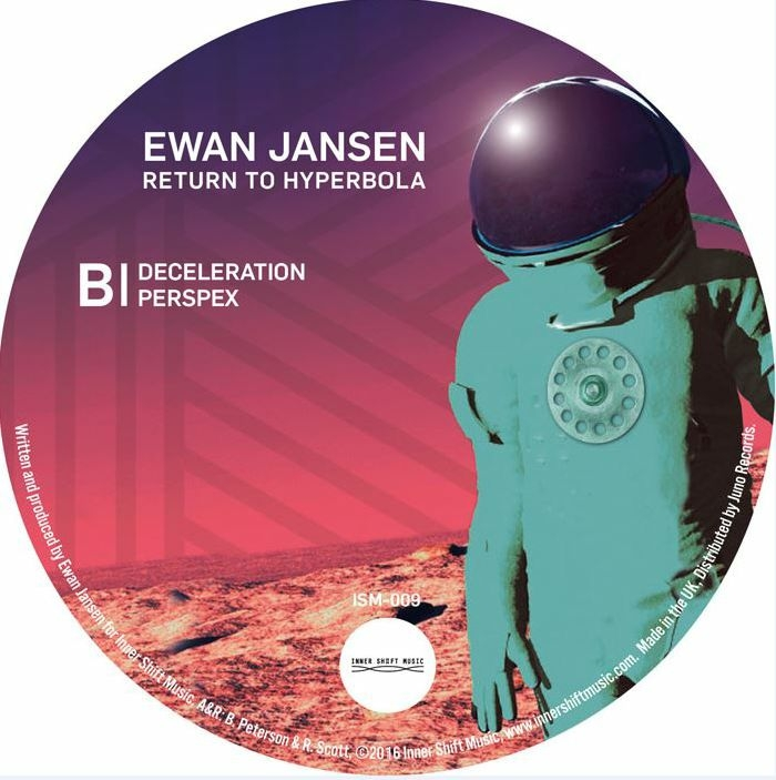 "( ISM 009 ) Ewan JANSEN - Return To Hyperbola (180 gram vinyl 12"") Inner Shift"