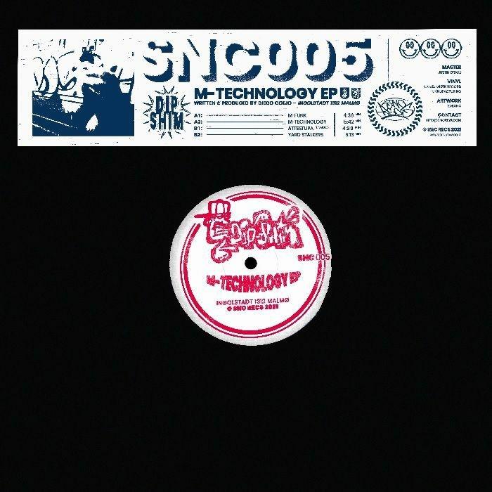 "( SNC 005 ) DIP SHIM - M Technology EP ( 12"" Vinyl ) SNC Recs"