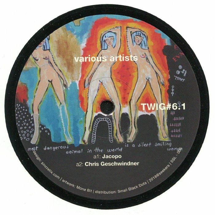 "( SSL 006 ) JACOPO / CHRIS GESCHWINDNER / MODEX / LAPUCCI  - Twig #6.1 (12"") (1 per customer) Twig"