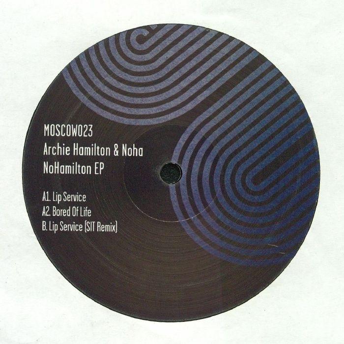 """( MOSCOW 023 ) Archie HAMILTON / NOHA - NoHamilton EP (12"""") Moscow"""
