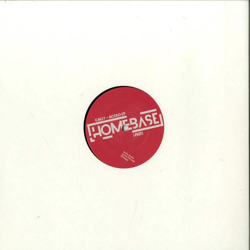 """(  Homebase 001 ) Cally - ACOLO EP 12"""" Vinyl D - Homebase"""