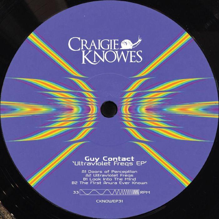 "(CKNOWEP 31 ) GUY CONTACT -  Ultraviolet Freqs EP (12"") Craigie Knowes"