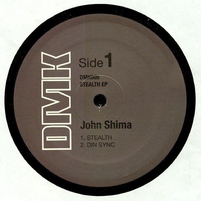 "( DMK 005 ) John SHIMA - Stealth EP (heavyweight vinyl 12"") DMK"