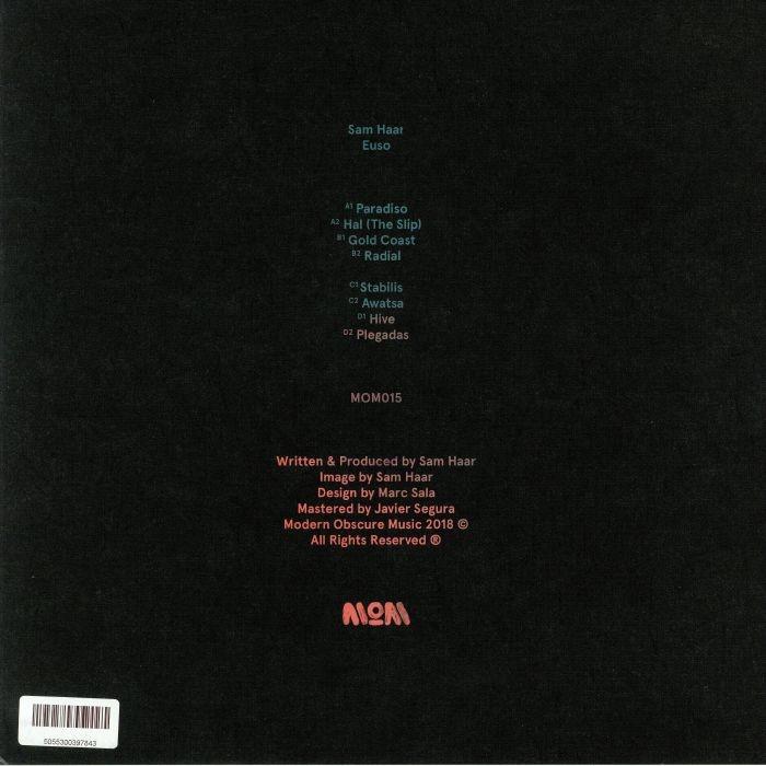 ( MOM 015 ) Sam HAAR - Euso (2xLP) Modern Obscure