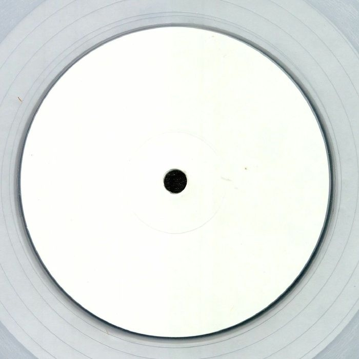"""( SUSH 18C ) The WISE CAUCASIAN aka STEVE O'SULLIVAN - Kutchie Dub (reissue) (limited hand-stamped 1-sided clear vinyl 12"""")  Sushitech"""