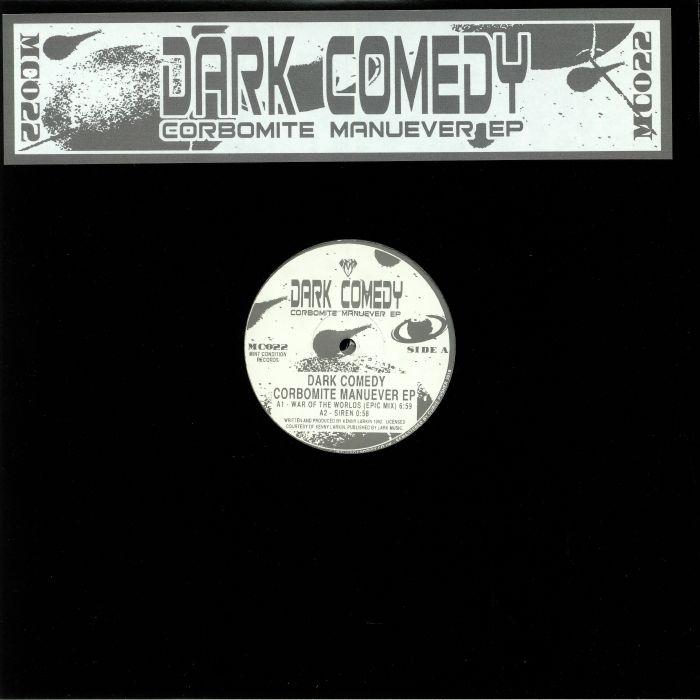 "(  MC 022 ) DARK COMEDY aka KENNY LARKIN Corbomite Manuever EP (reissue  double 12"") Mint Condition UK"