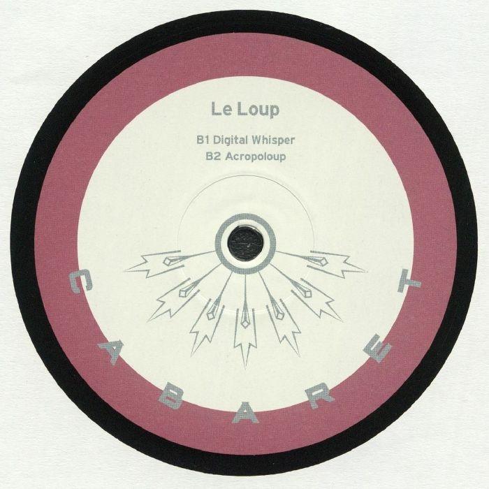 "( CABARET 022 ) LE LOUP - Real Talk EP (12"") Cabaret Japan"