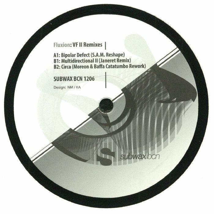 "( SUBWAXBCN 1206 ) FLUXION - VF II Remixes (12"") Subwax Bcn Spain"
