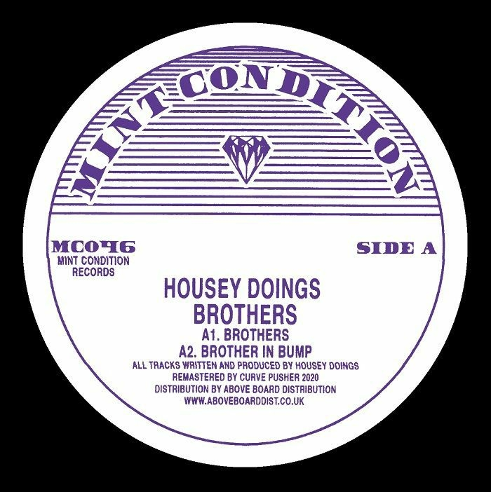 """( MC 046 ) HOUSEY DOINGS - Brothers (12"""") Mint Condition"""