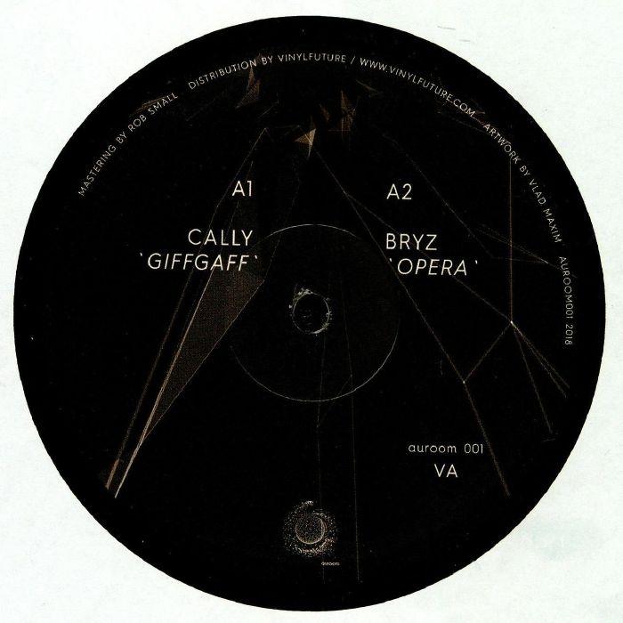 "( AUROOM 001 ) CALLY / BRYZ / SEBASTIAN ERIC / OANA LECA - AUROOM 001 (12"") Auroom Germany"