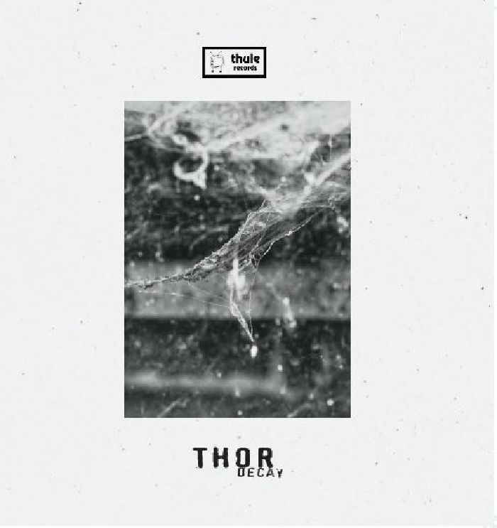 "( THL 024LTD ) THOR - Decay (limited 180 gram marbled grey vinyl 12"") Thule Iceland"