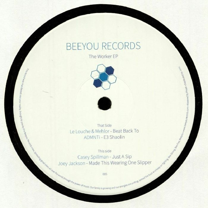 "( BEEY 005 ) VARIOUS - The Worker EP (180 gram vinyl 12"") Beeyou"