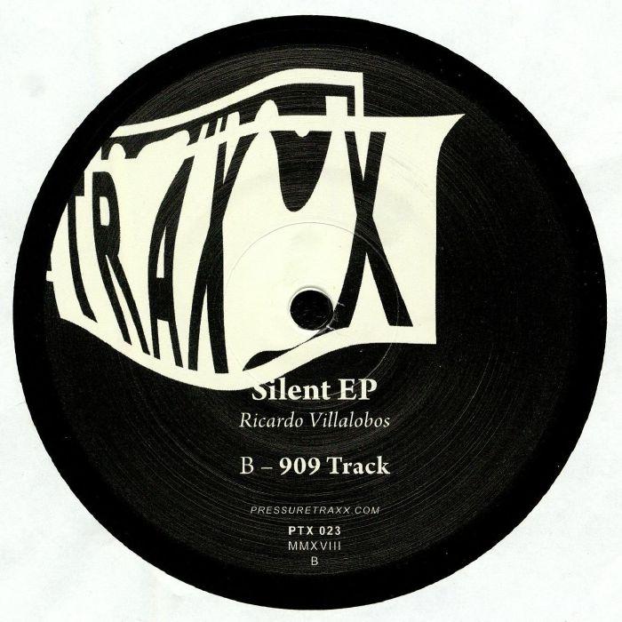 """(  PTX 023 ) Ricardo VILLALOBOS - Silent EP (12"""") Pressure Traxx"""