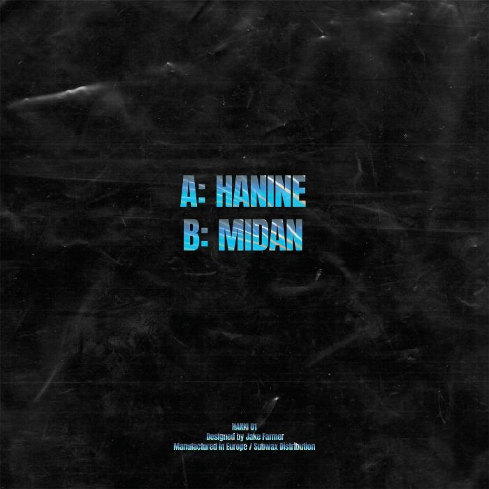 """(  HAKKI 01 ) MANDAR - Hanine EP (12"""") Hakki"""