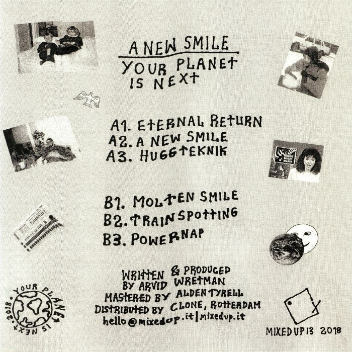 ( MIXEDUP 13 ) YOUR PLANET IS NEXT - A New Smile (LP) Mixed Up Italy