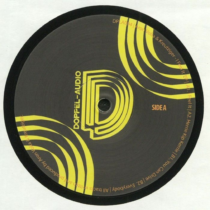 "( DPLA 004 ) ARON VOLTA / KREUTZIGER - DPLA 004 (12"") Doppel-Audio"