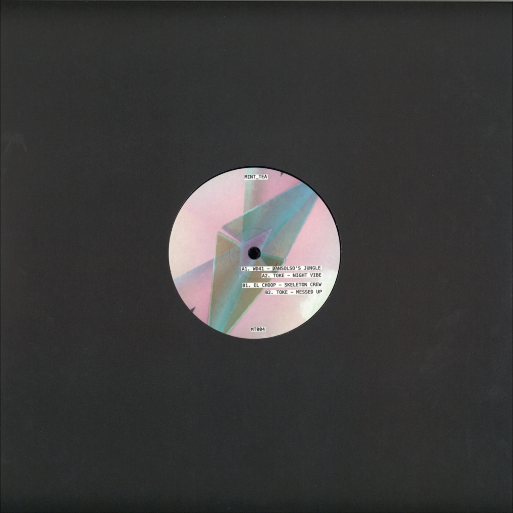 "(  MT 004 ) WD41 / TOKE / EL CHOOP - Dansolso's Jungle (12"") Mint Tea"