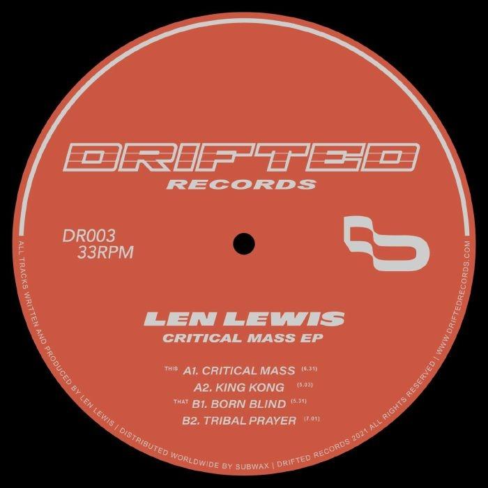 """( DR 003 ) Len LEWIS - Critical Mass EP (12"""") Drifted"""