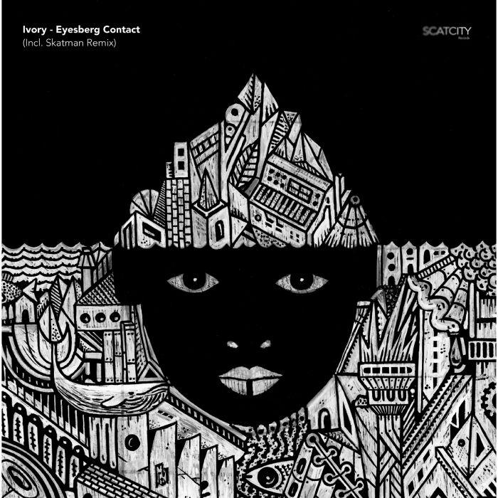 "( SCAT 06 ) IVORY - Eyesberg Contact. (Incl Skatman Remix) (12"") Scatcity Records"