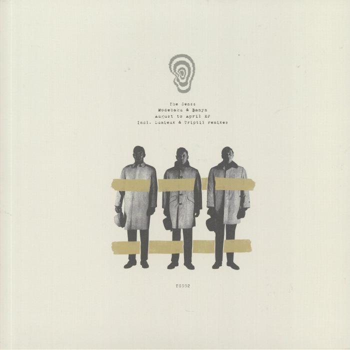 "( TS 002 ) MODEBAKU / BANYN - August To April EP (180 gram vinyl 12"") The Senss Australia"