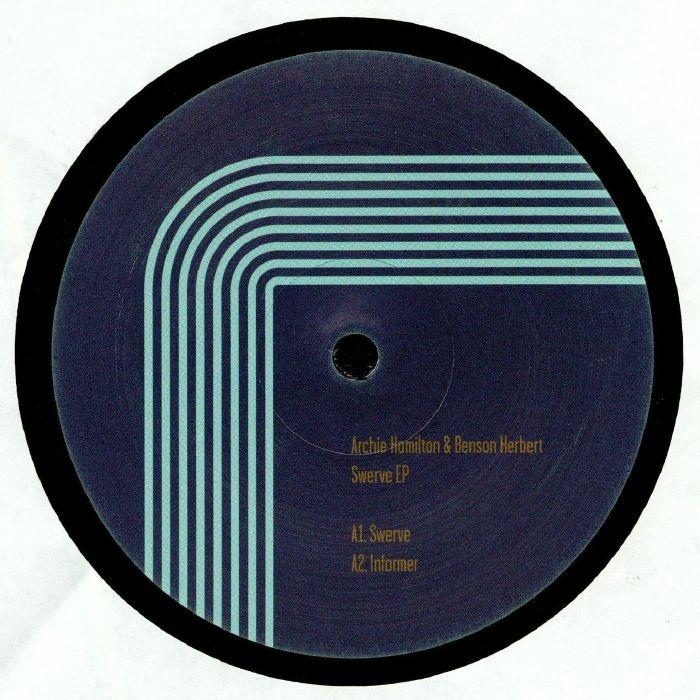 "( MOSCOW 024 ) Archie HAMILTON / BENSON HERBERT - Swerve EP (12"") Moscow"