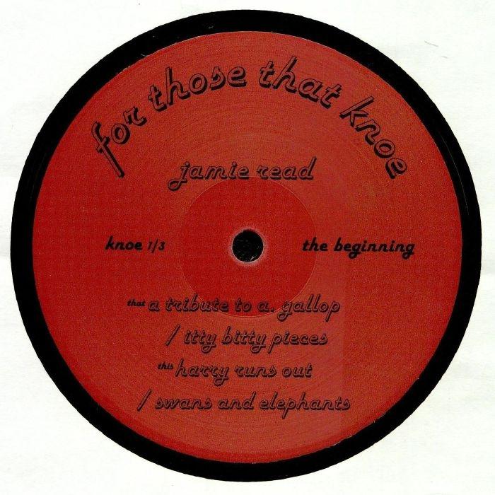 """( KNOE 1/3 ) Jaime READ - The Beginning (180 gram vinyl 12"""") For Those That Knoe"""