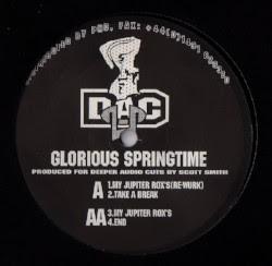 "( DAC 002 ) Scott SMITH - Glorious Springtime (limited 12"")   (1 per customer - we do not  guarantee the copy )  Deeper Audio Cuts"