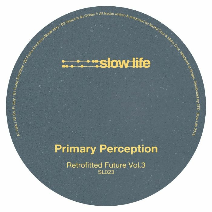 "(  SL 023 ) PRIMARY PERCEPTION - Retrofitted Future Vol 3 (12"") Slow Life"