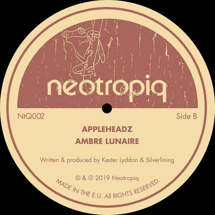 """( NTQ 002 ) PRIMITIVE / APPLEHEADZ - Translations 1 (12"""") Neotropiq Spain"""
