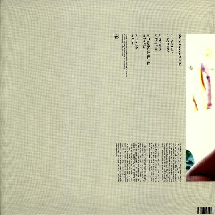 """( REKIDS 155 ) MARCO FARAONE - No Filter (2x12"""") Rekids"""