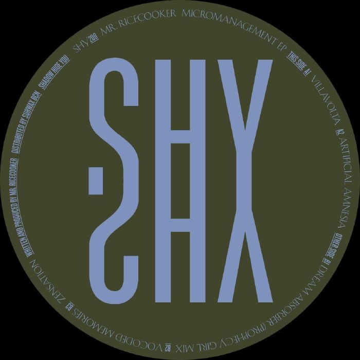 """( SHY 200 ) MR RICECOOKER - Micromanagement (12"""") Shadow Hide You"""