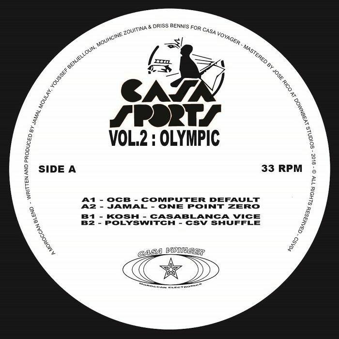 "( CSV 04 ) OCB / JAMAL / KOSH / POLYSWITCH - Casa Sports Vol 2 (12"") Casa Voyager France"
