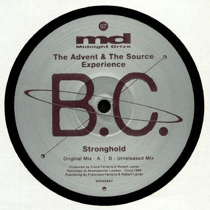 """( DRIVE 007 ) BC - Stronghold (12"""") Midnight Drive"""