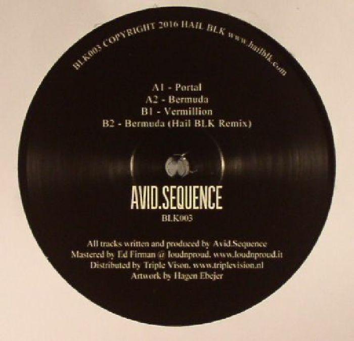 """(  BLK 003 )  AVID SEQUENCE - Avid Sequence (12"""") - Hail Blk Malta"""