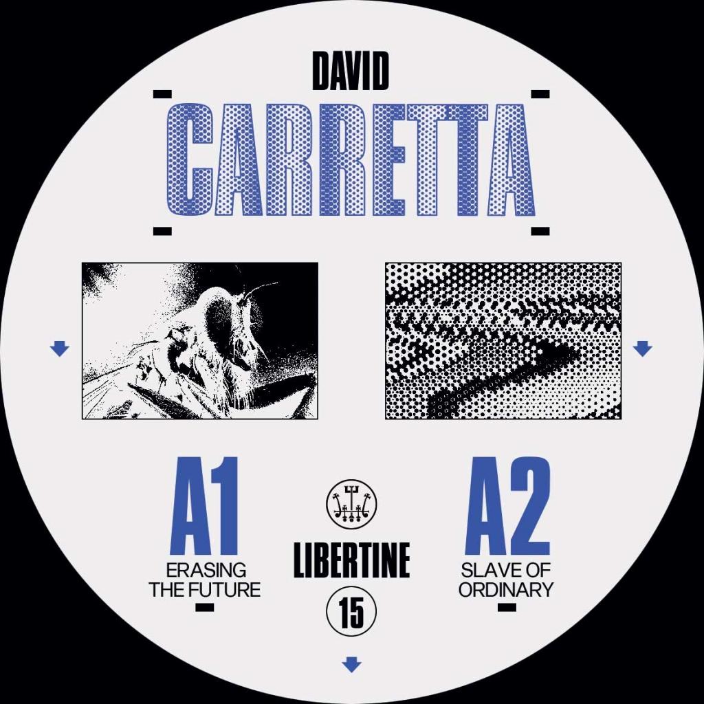 "( LIB 15 ) David Carretta - Libertine 15 (12"") Libertine"
