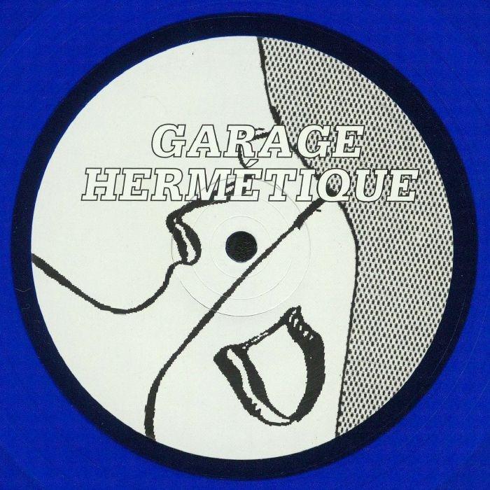 "( GH 03 ) ONIRIK - GH01 Reworks (transparent blue vinyl 12"") - Garage Hermetique"