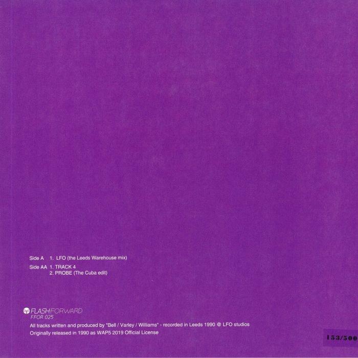 """( FFOR 025 ) LFO - LFO (30th Anniversary Edition) (reissue) (limited  vinyl 12"""") Flash Forward"""