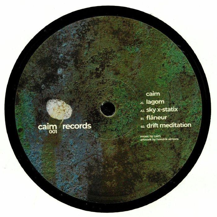 """( CAIMRECORDS 001 ) CAIM - Flaneur (heavyweight vinyl 12"""") Caim Holland"""
