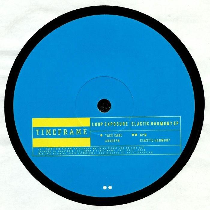 "( TMFR 002 ) LOOP EXPOSURE - Elastic Harmony EP (12"") Timeframe"
