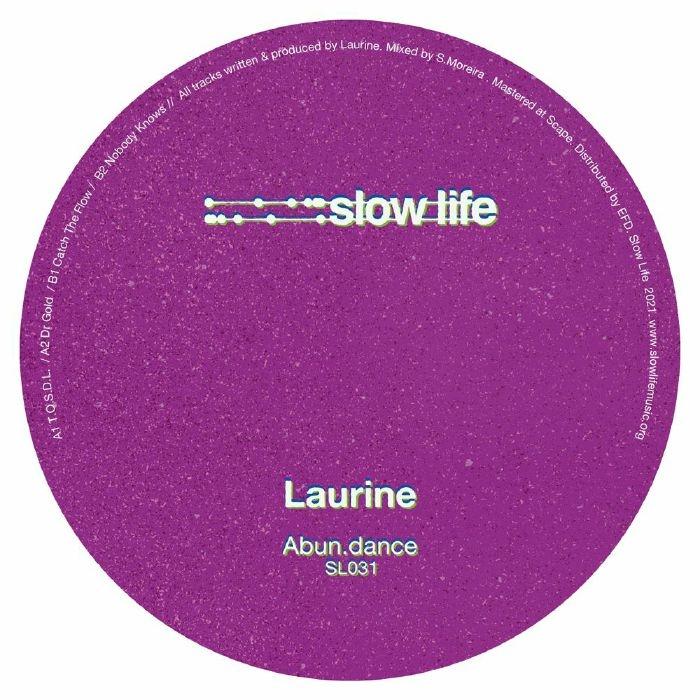 "( SL 031 ) LAURINE - Abun Dance (12"") Slow Life"